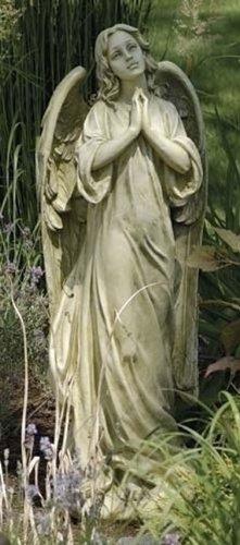 Beautiful Praying Angel Garden Statue