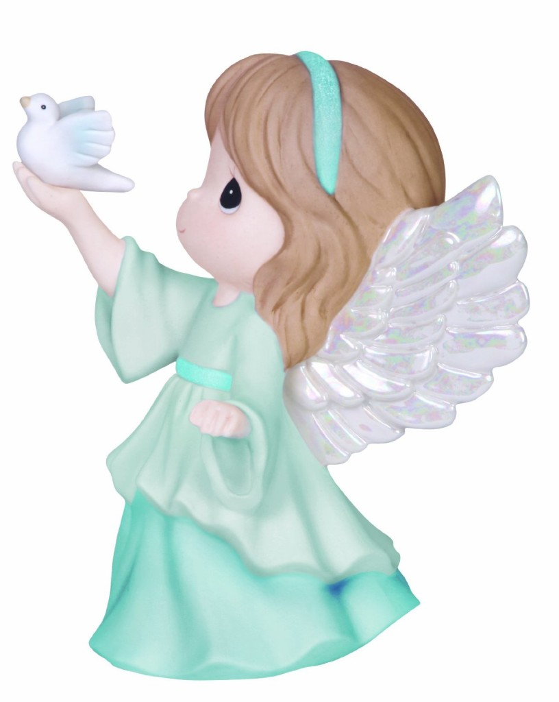 cute angel of peace figurine