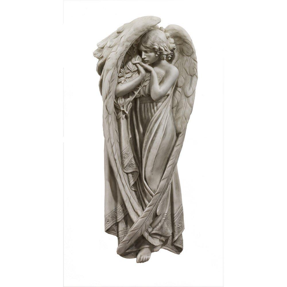 Beautiful Large Angel Wall Statue