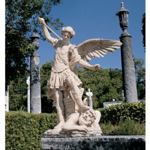 Large Archangel Michael Garden Sculpture