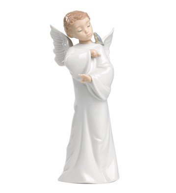 Lladro Porcelain Guardian Angel Figurine