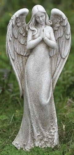 praying angel statues
