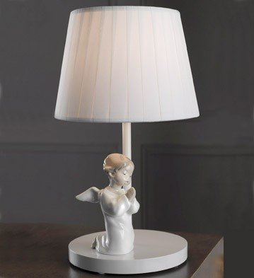 Lladro Angel Praying Lamp