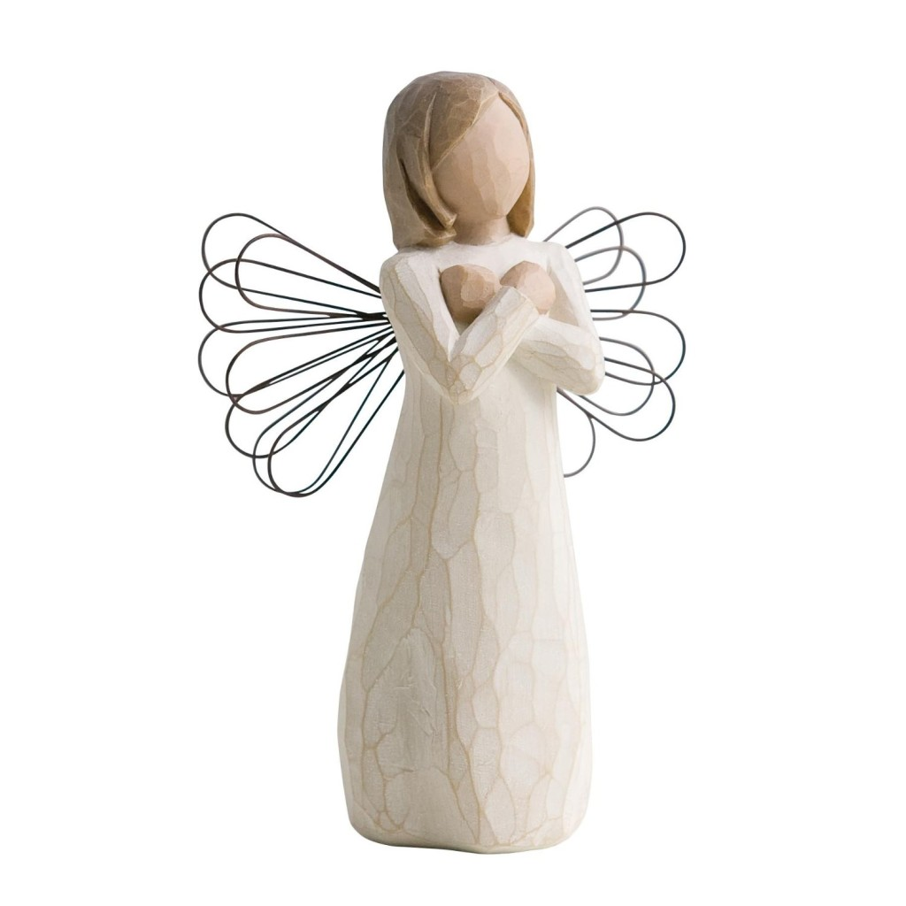 cutest angel figurine love