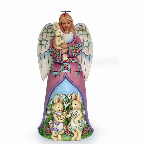 Cute Jim Shore Easter Angel Figurine