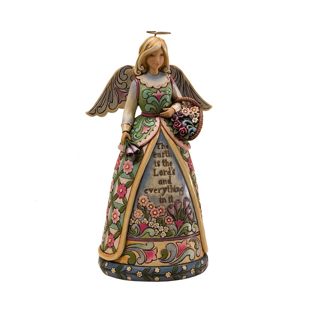 Jim Shore Heartwood Creek from Enesco Inspirational Garden Angel Figurine