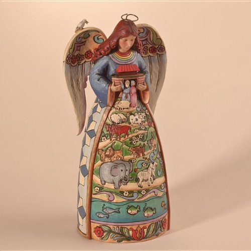 Beautiful Jim Shore Noah's Ark Angel Figurine