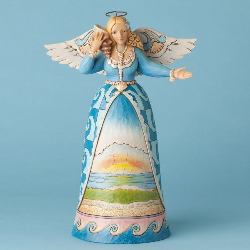 Jim Shore Sunset Scene Angel Figurine
