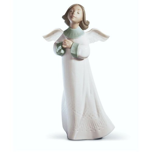 Beautiful Lladro Praying Angel Figurine
