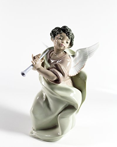 "Lladro ""Angel with Clarinet"" Highly Collectible Figurine"