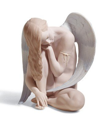 WONDERFUL Male ANGEL Lladro Porcelain
