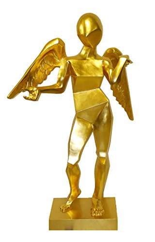 Cubist Angel Large Bronze Angel Figure