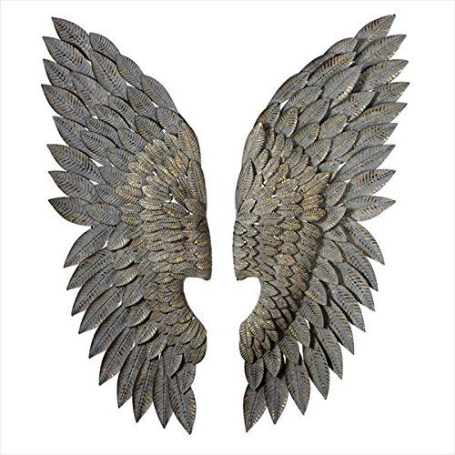 Iron Angel Wings Wall Art